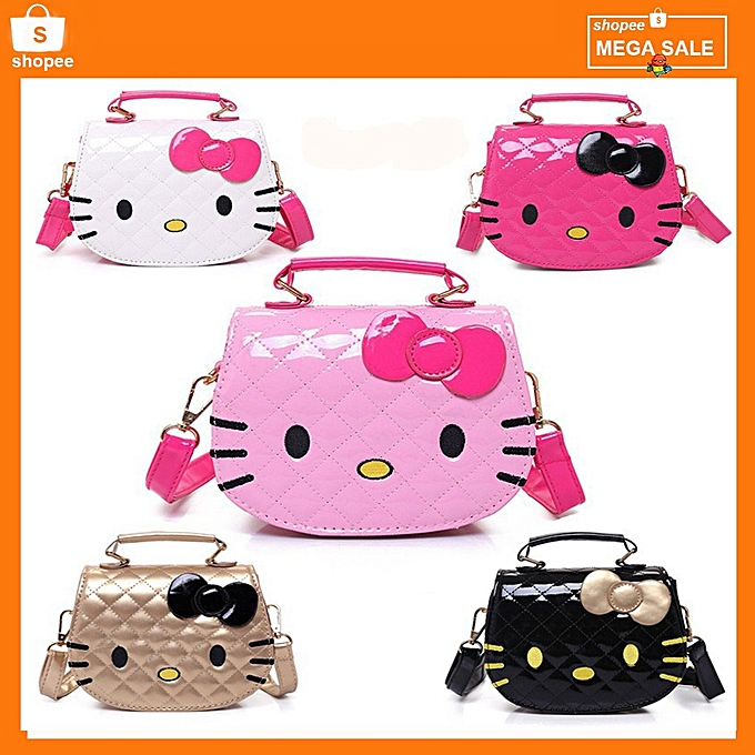Hello Kitty Bag Korean Kawaii Sling Handbag Shoulder Bags