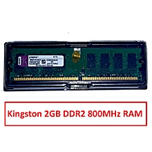 2GB DDR2 Desktop RAM 800 MHz DDR 2 PC2-6400 240pin DIMM RAM