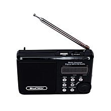 Solar Radio - FM/USB - Black