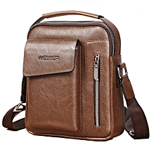 4f4bcdaebc25 High Quality Wear-resistant Leather Men  039 s Handbag Retro Bag Shoulder  Bag