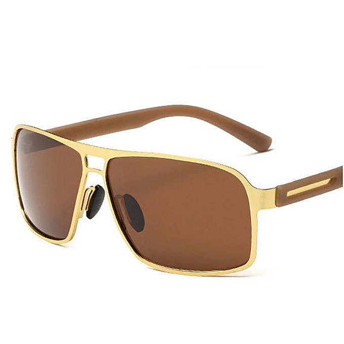 2e1a4827f023 AORON Men Polarized Sunglasses Luxury HD Driving Glasses Brand Designer Sun  Glass Metal Frame UV400 Eyewear
