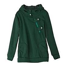 7d3c4ef534 Women  039 s Hoodie With Pockets - Green