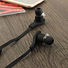 New BT-H06 Wireless Mini Bluetooth Stereo Sport Earphone Earbud with Microphone-black