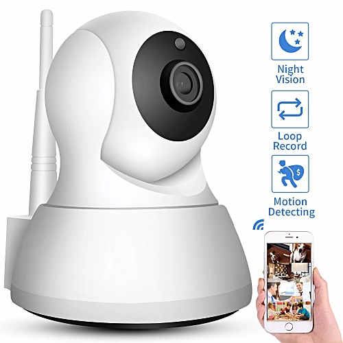 720P Home Security IP Camera Two Way Audio Wireless Mini Camera Night  Vision CCTV WiFi Camera Baby Monitor ICsee