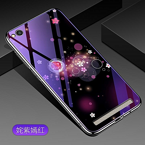 sports shoes f5757 f3c47 For Xiaomi Redmi 5A Lovely Cartoon Wolf Flower Blue Light Back Cover For  Xiaomi Redmi 5A Anti-Explosion Tempered Glass Case Fundas 5.0inch 745326  c-3 ...