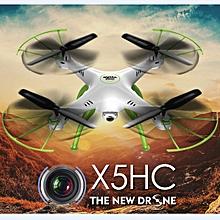 Syma X5HC With 2MP HD Camera 2.4G 4CH 6Axis Altitude Mode RC Quadcopter RTF-WhiteLeft Hand