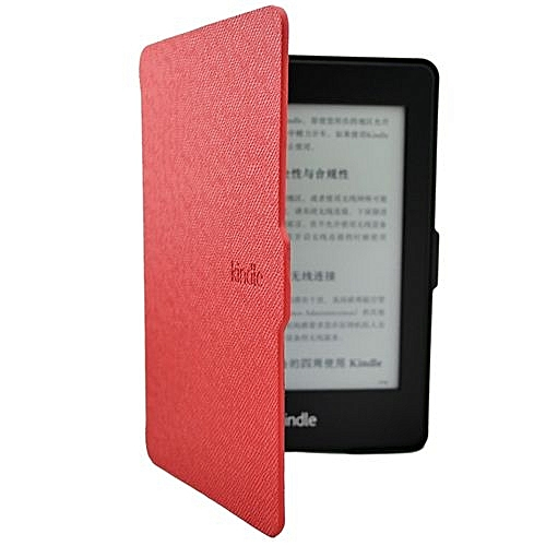 Smart Ultra Slim Magnetic Case Cover For Kindle Paperwhite+Screen Film RD