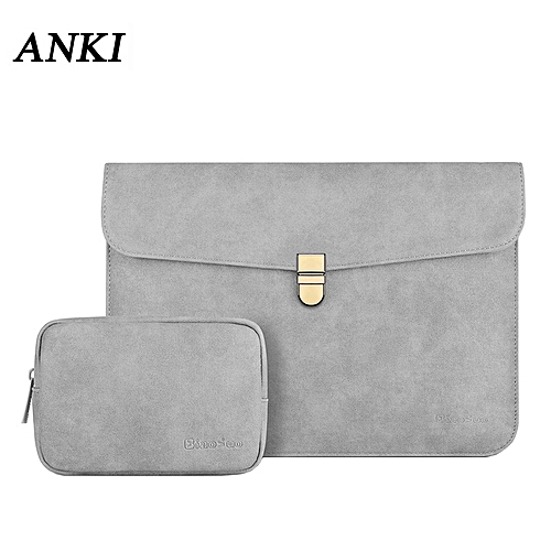 a8b836d65338 For Macbook Air 13 Bag Pro 12 13 14 Case Waterproof Matte PU Leather Slim  Sleeve Laptop Bags For Xiaomi Mi Notebook 13.3 Cover( For most laptop ...
