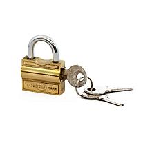 Padlock - 25 mm side opening  NO 102 3 keys