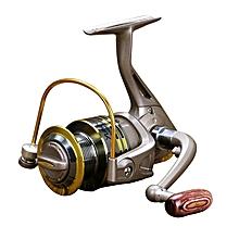 Yumoshi Gs2000 Full Metal 12 Ball Bearings Rocker Handle Wheel Seat Fishing Spinning Reel