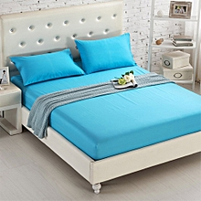 Bed Li Pure Cotton Anti - Slip Bed Cover Mattress Cover Bed Palm Mat light blue