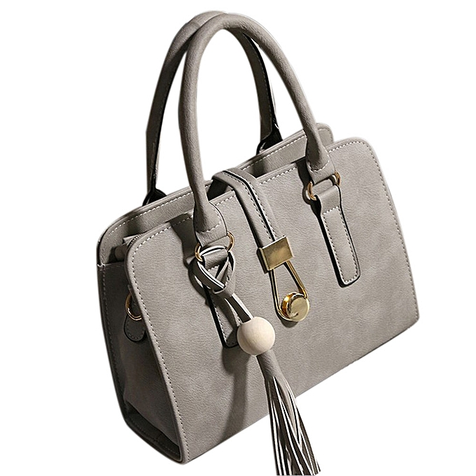 b6056a0334 ... jiuhap store Fashion Women Handbags Shoulder Bags Tote Bag Female Retro  Messenger Bag GY-Gray