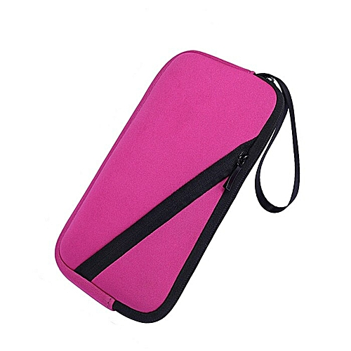 Soft Carrying Pouch Sleeve Storage Case For Texas Instruments TI-84 83 89  Plus TI-Nspire CX/CX CAS Graphing Calculator Handbag(Rose)