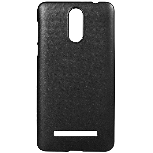 LEAGOO M8 / M8 Pro OCUBE Hard Protective Case Phone Cover  Metallic Paint Coating Mobile Shell -Black