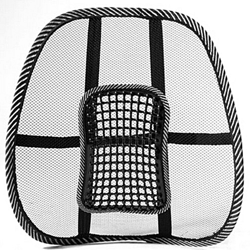 Buy Soho Chair/Car Mage Back Lumbar Support Mesh Ventilate ... Back Support For Office Chair on chair with adjustable lumbar support, chair back support products, best ergonomic chair lumbar support for office, chair cushion for office,