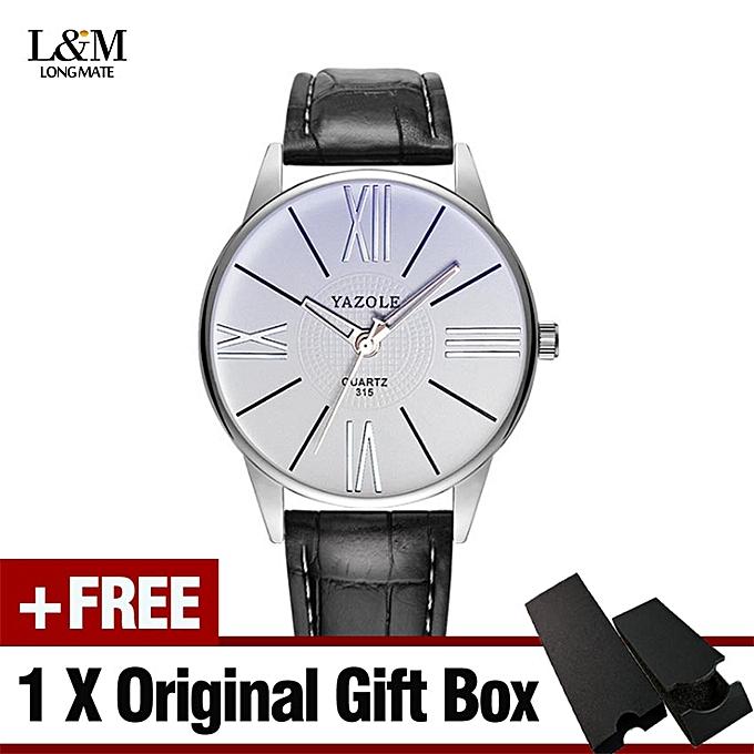 Yazole Top Brand Luxury Watch Men Fashion Business Quartz Watch