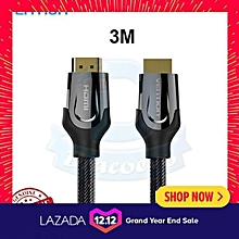 Vention 2.0 HDMI Cable Zinc Alloy Shell Gold Plated Nylon 4k 60Hz ULINE
