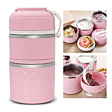 59966b8e72 Colorful Thermal Lunch Box Stainless Steel Food Storage Container Cute Mini  Japanese Bento Box Leak-