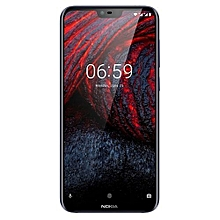 6.1 Plus 5.8-Inch (4GB, 64GB ROM), 12MP + 16MP, Dual Sim, 4G Smartphone - black