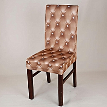 Removable Stretch Spandex Chair Cover Slipcovers Dining Wedding Banquet Decor # Champagne