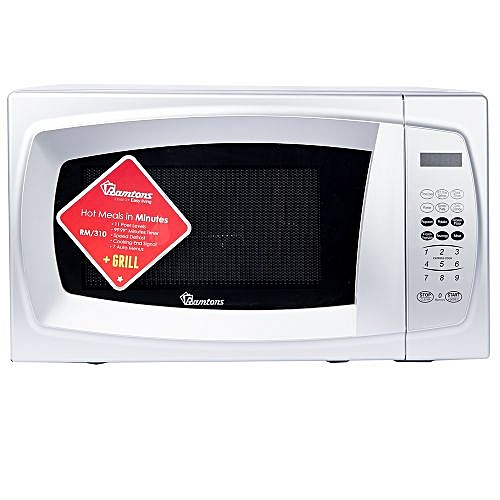 RM/310- 20LTS Microwave+Grill- Silver..