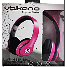 Rhythm Headphones - Pink
