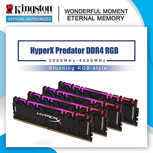 HyperX Predator Black 8GB 16GB 3000MHz DDR4 CL15 DIMM XMP HX430C15PB3/16  Memoria Ram ddr4 for Desktop Memory Rams(Memory Capacity: DDR4 3600MHz 8G)