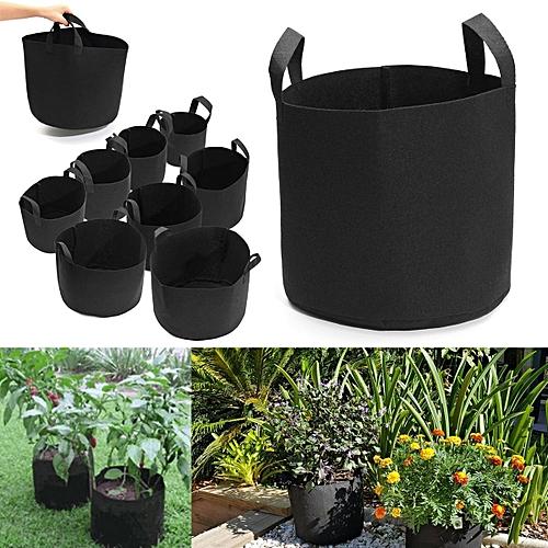 1 Gallon 18 15cm Fabric Grow Pots Breathable Plant Bags