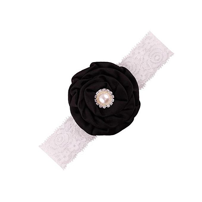 1ea49fd89dc8 Braveayong Kids Baby Girl Toddler Cute Flower Headband Hair Band Headwear  BK - Black
