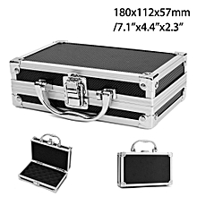 Aluminium Alloy Tool Box Handle Storage Suitcase Travel Luggage Organizer Case