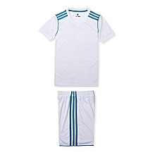 Customized World Cup Children Kids Boy And Girl's Football Soccer Team Sports Training Jersey-White