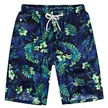 5230d239e3 huskspo Mens Shorts Swim Trunks Quick Dry Beach Surfing Running Swimming  Water Pants-Green