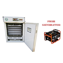 High Efficient and Fully Automatic 1232 Eggs incubator,99% Hatch Rate+Free Generator
