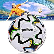 Official Size 5 Football PU Leather Match Training Soccer Ball Profession