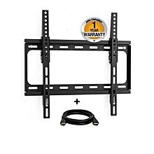 """ABK-306 - TV Wall mount - 5 in 1 Kit - Flat - 26-47"""" -Tilt  - Black"""
