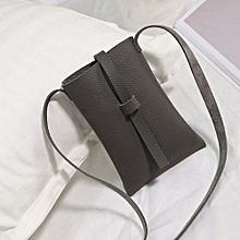 bluerdream-Women's Handbag Shoulder Leather Messenger Cross Body Bag Purse Tote Bags GY-Gray