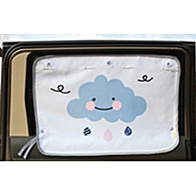 2 pcs Car Side Window Anti-UV  Curtain Thickening  Cotton Sun Visor -70 X 50cm