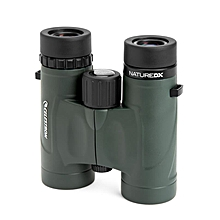 10x42H High Binoculars Night Vision Waterproof Telescope - green