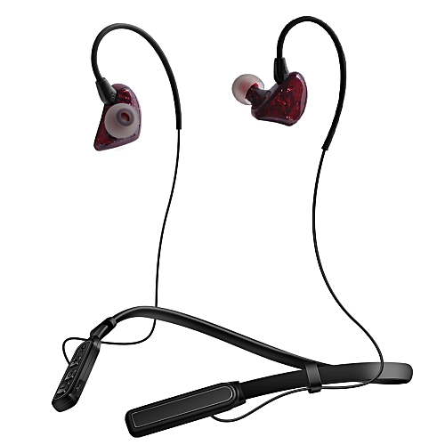 fea1a1a07d3 Generic Fovibery Wireless Sports Earphones Neckband Headset With Mic For  IPhone
