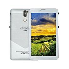 """A7+ 4G LTE Tablet - 7"""" - 1GB RAM - 16GB - Dual SIM - Silver"""