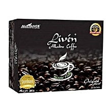 Alkaline Liven coffee-sugar free