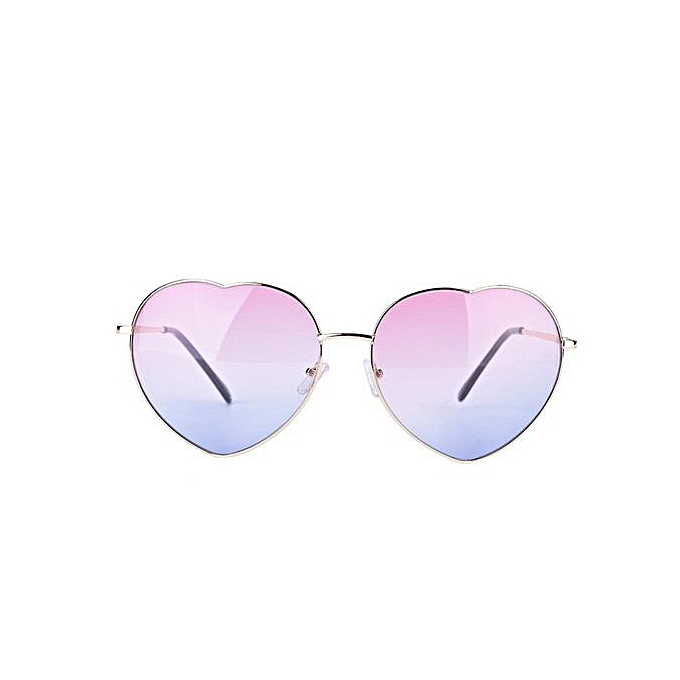 b767c0e448  clearance Sale+ready Stock 5Colors Women Men Sunglasses Outdoor UV  Protection Heart Sun