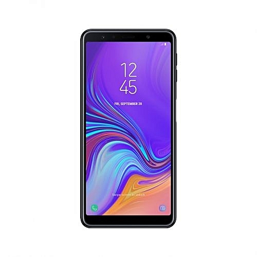 Galaxy A7 2018 - 64GB - 4GB - Triple Camera - Dual SIM 4G - Black