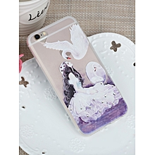 Iphone 8/8 Plus/7/7 Plus/6S/6S Plus/6/6 Plus Case Swan Girl Themed Phone Cover Case____IPHONE 6/6S____as the picture