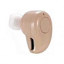 S530 Plus Mini Bluetooth Headphone Wireless Music Earphone Car Kit Handsfree Headset(Beige)
