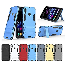 Dual Layer Shockproof Hybrid Rugged Case for Huawei Nova 3i Hard Cover with Kickstand Black