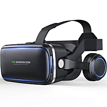 Seven Generation Of VR3D Virtual Reality Game Glasses - Black