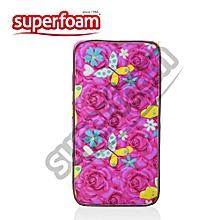 "Superfoam Multi-Colored Baby Cot Mattress 48"" x 24"" x 4""(Foam Medium Density Mattress, Firm)"