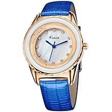 Blue Wrist Watch + Free Gift Box