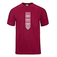 Maroon Aztec T-shirt